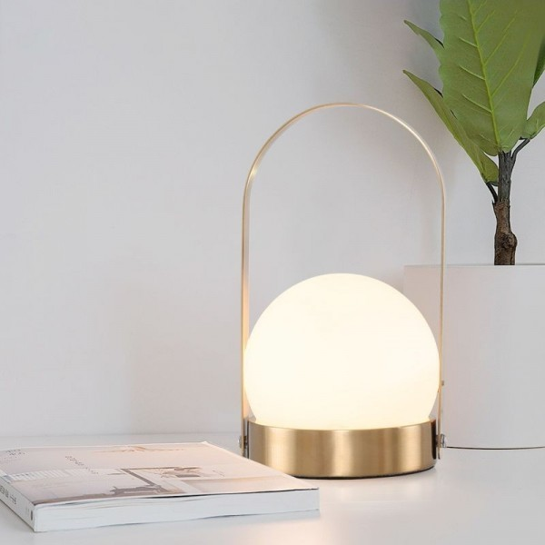 Hand-carried Basket Table Light