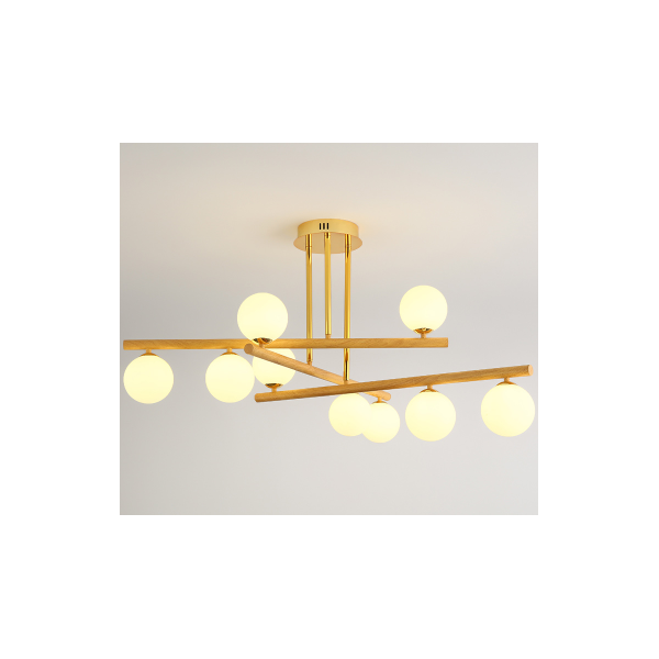 LINE Wooden Molecular Light